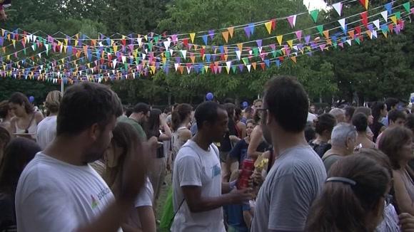 El Castell de Focs tanca amb llum i color la Festa Major de Sant Cugat