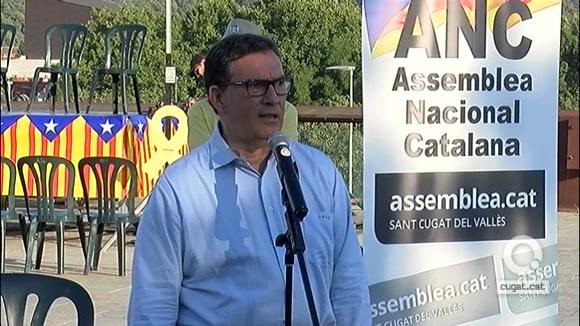 Cuevillas expressa a Sant Cugat el seu malestar amb el pacte de JxCat a la Diputació
