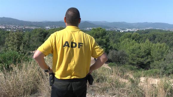El compromís del cos dels ADF, primordial per a la prevenció d'incendis a Collserola
