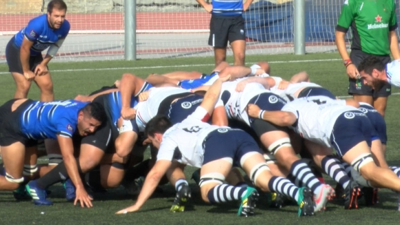 Un Rugby Sant Cugat combatiu planta cara però acabant caient davant el Fénix de Saragossa