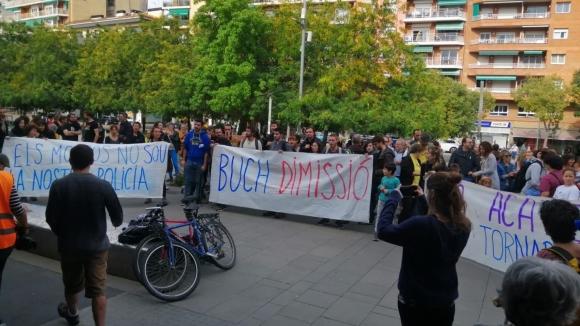 Els piquets i les protestes del CDR marquen el matí de la jornada de vaga