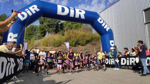 La 6a edició de la Cursa DiR Kids aplega més d'un centenar d'infants