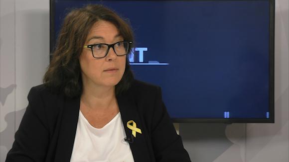 Diana Riba: 'El meu marit ha estat 40 dies empresonat amb el PP i 400 amb un govern socialista'