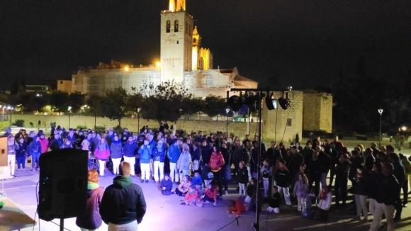 Sant Cugat viu una jornada de reflexió marcada per les activitats del Tsunami Democràtic