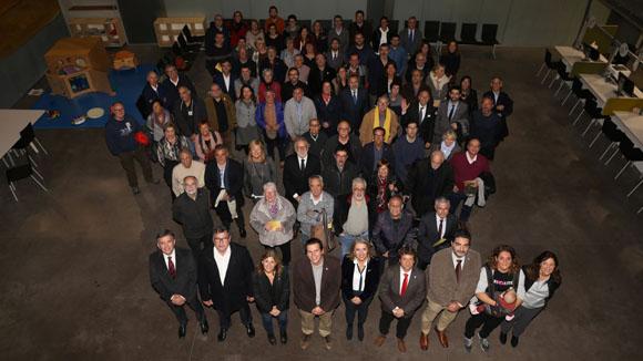 Commemoració dels 40 anys de la constitució dels ajuntaments democràtics