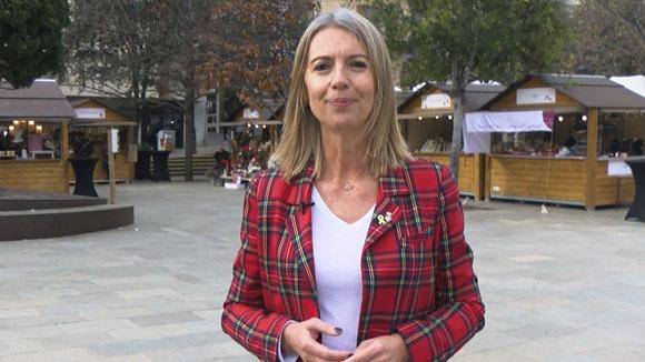 Missatge de Nadal de l'alcaldessa Mireia Ingla