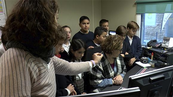 Alumnes de 5è de primària de l'escola Santa Isabel - Grup 1