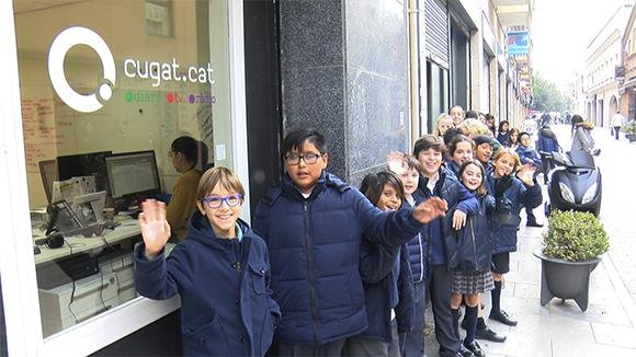 Alumnes de 5è de primària de l'escola Santa Isabel - Grup 2