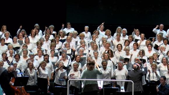 El Cor Participatiu de la Gent Gran porta el públic de Sant Cugat a un viatge pel Mediterrani