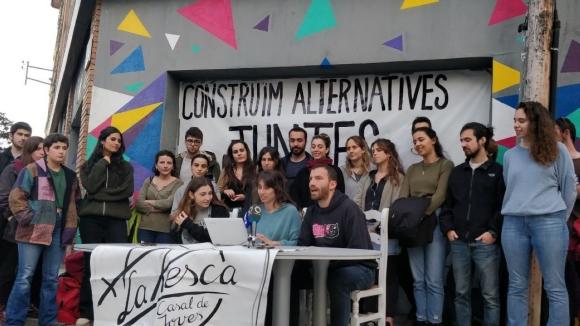 La Xesca justifica l'okupació d'aquest diumenge: 'Prou a la falta d'espais autogestionats!'