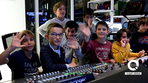 Alumnes de 4t de primària de La Farga - Grup 1