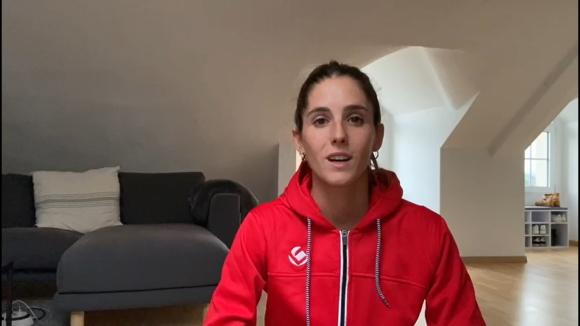Ànims de la jugadora d'hoquei herba de la selecció espanyola, Carlota Petchamé