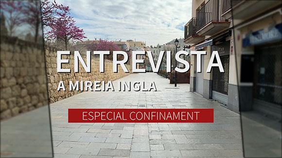 Entrevista a l'alcaldessa de Sant Cugat, Mireia Ingla