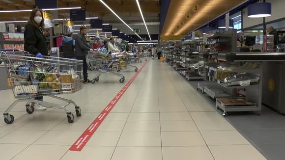 Treballar en temps de confinament: Botigues d'alimentació