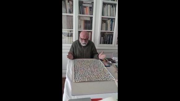 L'artista Sergi Barnils explica, amb creativitat, el seu confinament