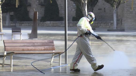 Treballar en temps de confinament: Neteja contra els contagis