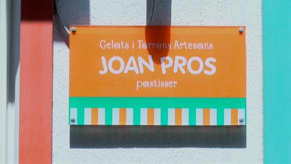 El gelat de l'àvia de la gelateria Joan Pros