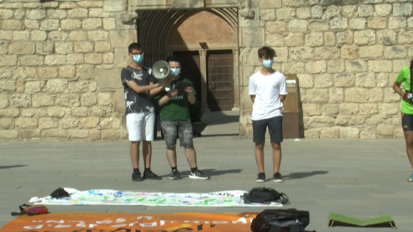 Fridays for Future Sant Cugat recupera la seva presència als carrers després de la pandèmia