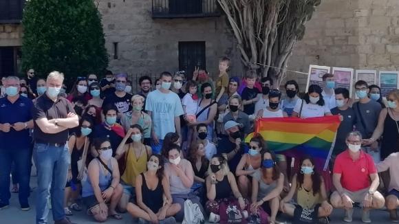 Sant Cugat trenca la norma reivindicant el Dia Internacional de l'Orgull LGTBI+