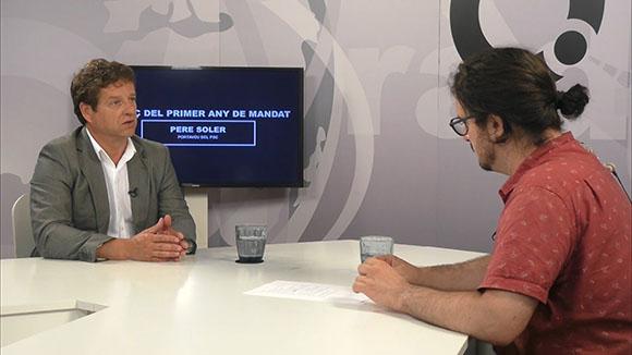 Entrevista a Pere Soler: balanç del primer any de mandat