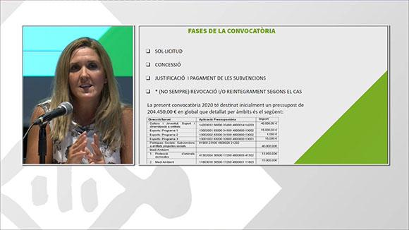 Sessió informativa sobre subvencions per a entitats