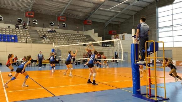 El so ambient del triomf del DSV- Club Voleibol Sant Cugat