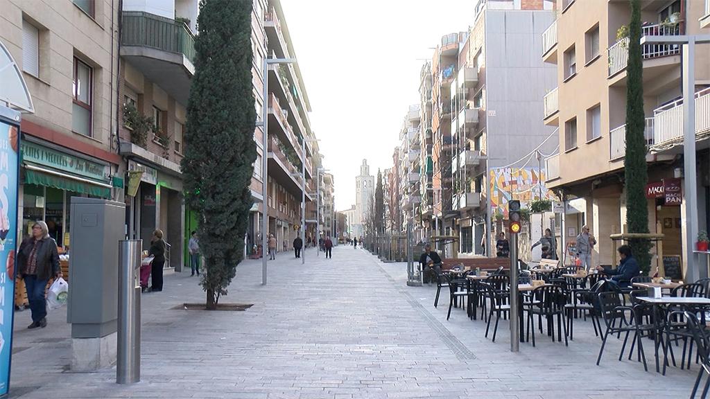 El segon tram de vianantització de l'avinguda de Cerdanyola s'iniciarà