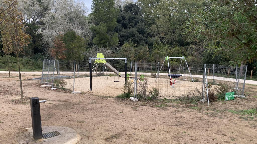 El parc infantil del Bosc de Volpelleres s'obrirà