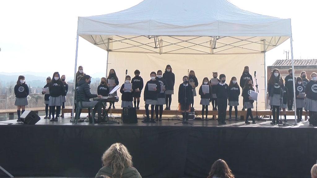 Nadales al carrer: Cor de Primària de l'Escola El Pinar