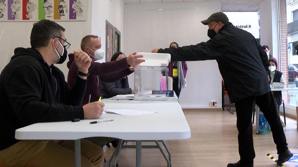 Una jornada electoral atípica