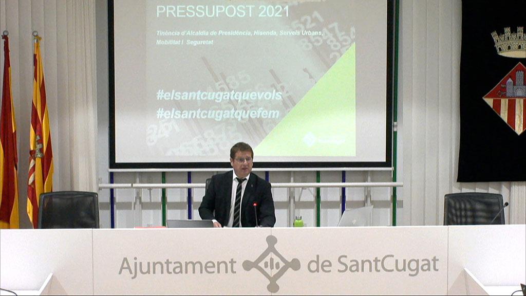 Audiència pública del pressupost 2021