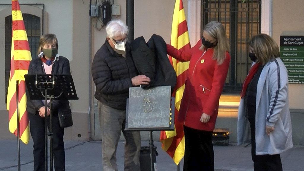 Commemoració del 90è aniversari de la República i homenatge a l'alcalde Roc Codó