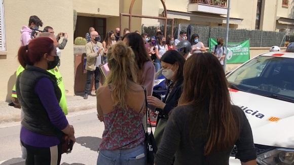 Ajornat dues setmanes un desnonament al carrer Vilaseca de Sant Cugat