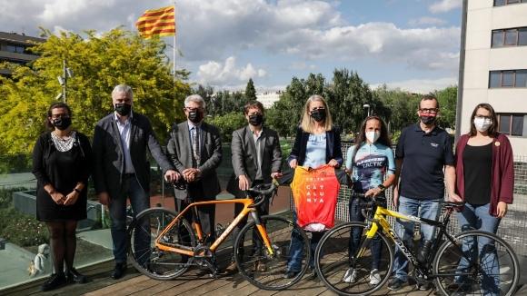 Més de 100 ciclistes participaran a la reVolta, que comença i acaba a Sant Cugat