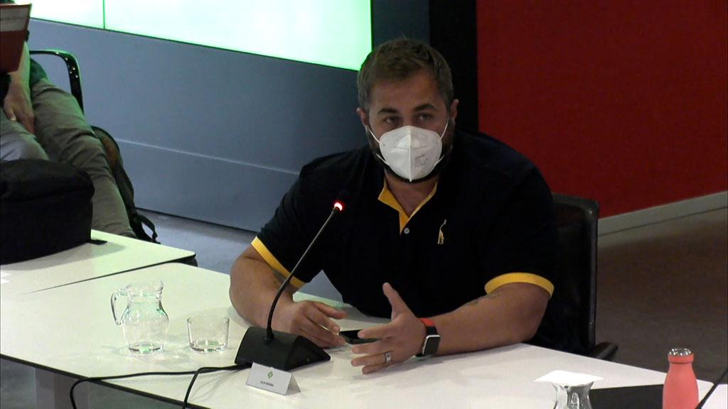 Gallardo fa a una crida al civisme en pro de la convivència entre cotxes i bicis