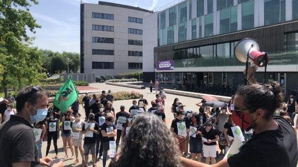 Nova mobilització del personal interí de l'Ajuntament de Sant Cugat per reclamar la fixesa