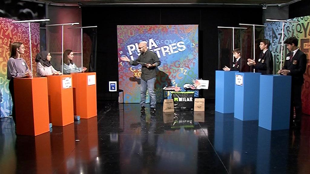 Semifinal 1: Institut Can Jofresa (Grup A) - Col·legi Viaró (Grup B)
