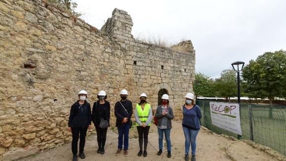La muralla de llevant del Monestir tornarà a 'defensar' Sant Cugat