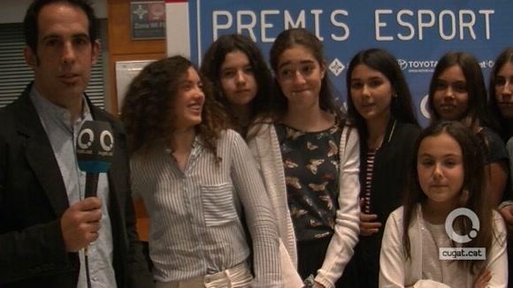 Pins del Vallès, premi millor equip escolar