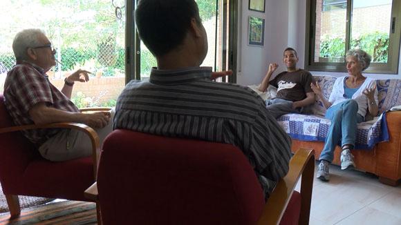 Persones refugiades a Sant Cugat