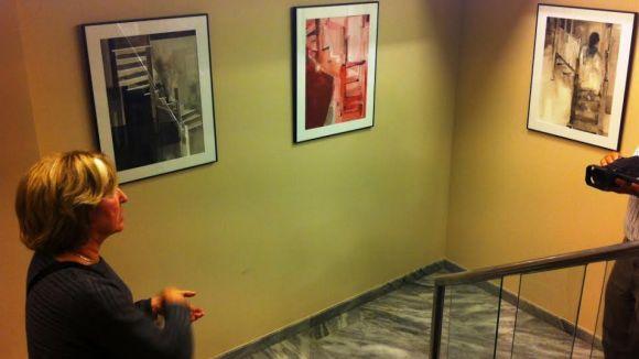 La santcugatenca Imma Pueyo inaugura una exposició a Rubí