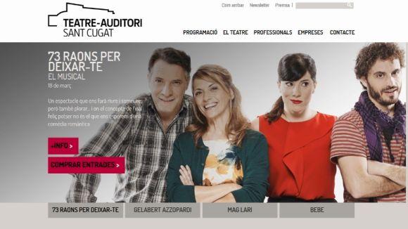 Fortuny respon a Ciutadans que la versió trilingüe de la web del Teatre-Auditori ja estava prevista