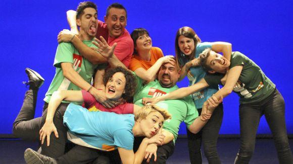 Els santcugatencs es fan guionistes per una nit a 'Impro-show'