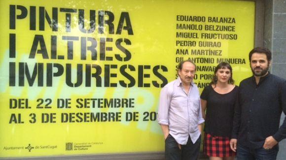 El Centre d'Art Maristany proposa una reflexió sobre la pintura amb obres de nou artistes murcians