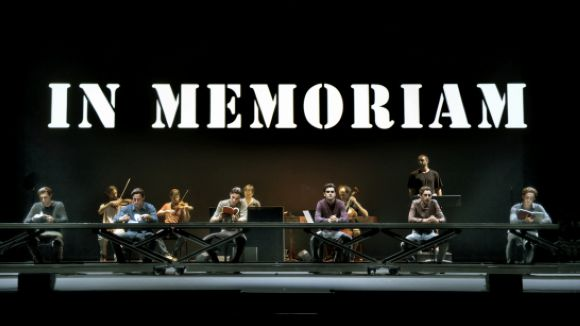 Els actors comentaran l'obra amb els espectadors en acabar la funció / Foto: Teatre Lliure