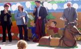 Un moment de la inauguració de l'Escola Bressol Cavall Fort