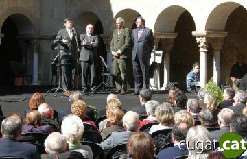 Arrenca a Sant Cugat la 27a Setmana del Llibre en Català