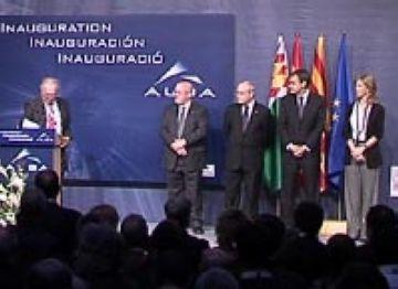 Zapatero i Montilla inauguren el sincrotró Alba, 'una infraestructura per a l'excel·lència en la investigació'