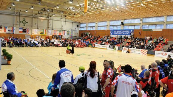 Imatge de la inauguració de l'Europeu de boccia / Font: Localpres