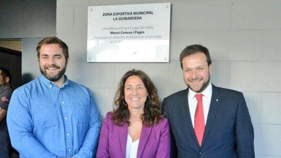 S'inaugura el pavelló de la Guinadera, que serà un dels referents de la Ciutat Europea de l'Esport al 2018